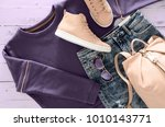 womens clothing  accessories ... | Shutterstock . vector #1010143771