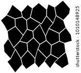 black and white irregular grid  ... | Shutterstock .eps vector #1010148925