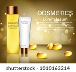 cosmetics. brand. means for... | Shutterstock .eps vector #1010163214