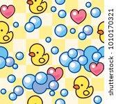 children's seamless pattern....   Shutterstock .eps vector #1010170321
