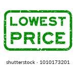 grunge green lowest price...   Shutterstock .eps vector #1010173201