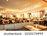abstract blur buffet restaurant ...   Shutterstock . vector #1010174995