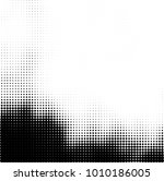 halftone black and white.... | Shutterstock .eps vector #1010186005