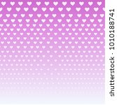 violet hearts purple background ... | Shutterstock .eps vector #1010188741