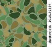 grunge camouflage for hunters ...   Shutterstock .eps vector #1010191669