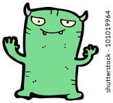 cartoon little devil | Shutterstock . vector #101019964