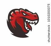 animal head   raptor   vector... | Shutterstock .eps vector #1010203375