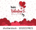illustration of love and... | Shutterstock .eps vector #1010219821