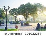 Manila   April 04  Rizal Park...