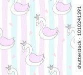 hand drawn seamless pattern... | Shutterstock .eps vector #1010241391