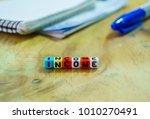 conceptual of income  profit...   Shutterstock . vector #1010270491
