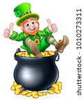 A St Patricks Day Leprechaun...