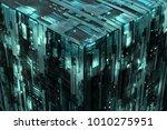 3d rendered complex structured...   Shutterstock . vector #1010275951