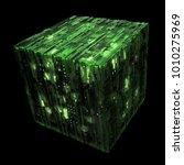 3d rendered complex structured... | Shutterstock . vector #1010275969