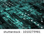 3d rendered complex structured... | Shutterstock . vector #1010275981
