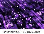 3d rendered complex structured... | Shutterstock . vector #1010276005