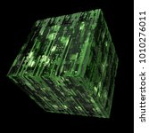 3d rendered complex structured... | Shutterstock . vector #1010276011