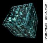 3d rendered complex structured... | Shutterstock . vector #1010276035