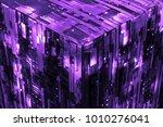 3d rendered complex structured... | Shutterstock . vector #1010276041