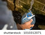 Collecting Natural Spring Wate...