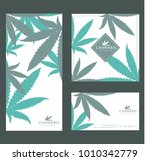 marijuana   cannabis logo... | Shutterstock .eps vector #1010342779