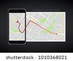 dashboard theme creative... | Shutterstock .eps vector #1010368021