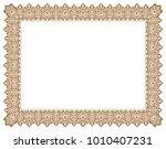 floral ornament frame   border | Shutterstock .eps vector #1010407231
