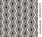 vector seamless stripes pattern.... | Shutterstock .eps vector #1010424175