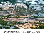 yuanyang rice terrace  china | Shutterstock . vector #1010426701
