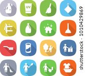 flat vector icon set   cleanser ... | Shutterstock .eps vector #1010429869
