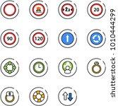 line vector icon set  ...   Shutterstock .eps vector #1010444299