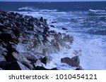 the pacific ocean | Shutterstock . vector #1010454121