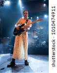 Small photo of BARCELONA - JAN 5: Wolf Alice (indie rock music band) perform in concert at Apolo venue on January 5, 2018 in Barcelona, Spain.