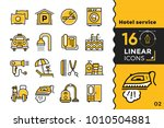 linear icons collection of... | Shutterstock .eps vector #1010504881