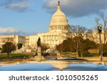 united states capitol building... | Shutterstock . vector #1010505265