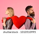 romance and breaking up concept.... | Shutterstock . vector #1010510995
