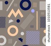 modern stylish texture.... | Shutterstock .eps vector #1010513581