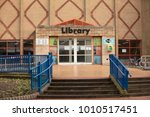 scunthorpe central library... | Shutterstock . vector #1010517451