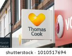 thomas cook travel agents sign  ... | Shutterstock . vector #1010517694