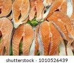 salmon  somon in turkish  is...   Shutterstock . vector #1010526439