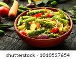 homemade authentic kerala...   Shutterstock . vector #1010527654