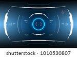 sci fi futuristic hud screen...
