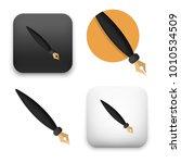 flat vector icon   illustration ... | Shutterstock .eps vector #1010534509
