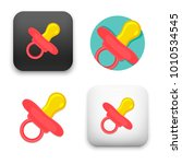 flat vector icon   illustration ... | Shutterstock .eps vector #1010534545