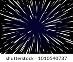 star wars. flying through the... | Shutterstock .eps vector #1010540737