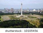 indonesia's national monumen | Shutterstock . vector #10105456
