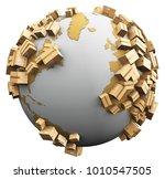 worldwide shipping  recycling... | Shutterstock . vector #1010547505