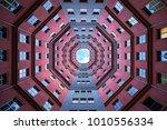 berlin patio in grey and...   Shutterstock . vector #1010556334