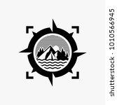adventure logo design  outdoor...   Shutterstock .eps vector #1010566945