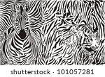 vector illustration pattern... | Shutterstock .eps vector #101057281